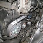 Výměna rozvodů VW Passat po výměně.